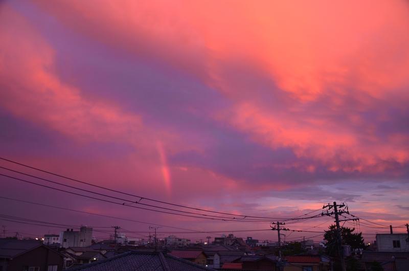 台風接近 空-4
