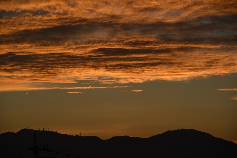 夕焼雲-1
