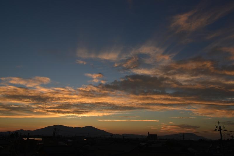 夕焼雲-2