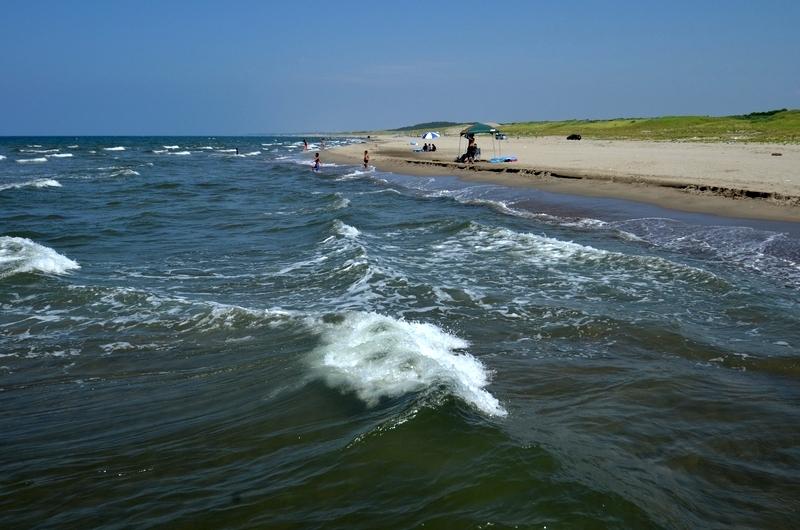 夏の浜辺-1