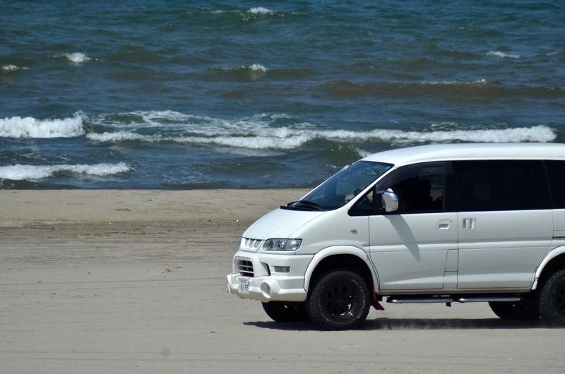 夏の浜辺-3