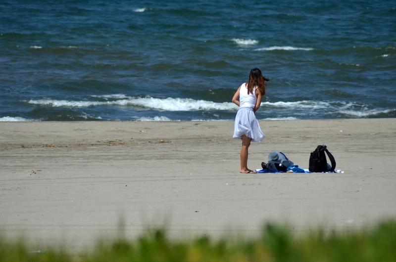 夏の浜辺-4
