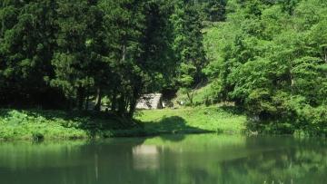 ・玉泉湖(金沢・湯涌温泉) (2)