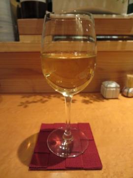 グラスワイン白 500円