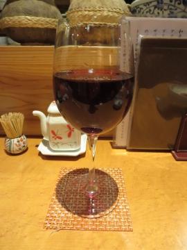 グラスワイン赤 500円