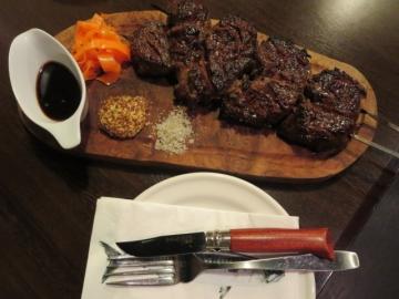 牛さがり串焼きBBQ 2000円