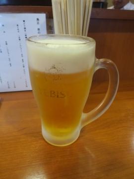 生ビール(エビス) 600円