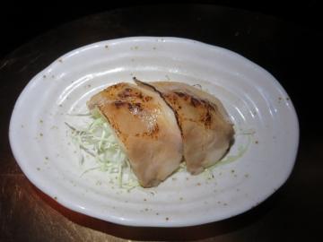 焼豚の炙り
