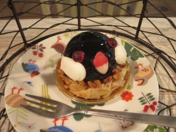 桜文鳥のケーキ