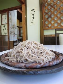 十割ざる蕎麦830円+大盛り350円