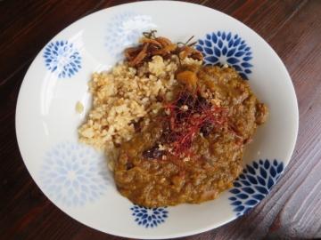 玄米ご飯です