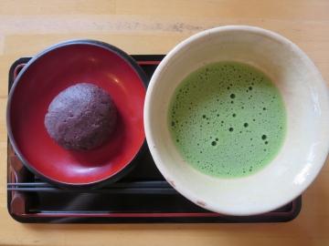 抹茶(おはぎ付き) 570円