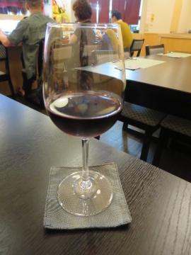 グラスワイン赤 800円