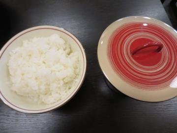 ご飯と汁物