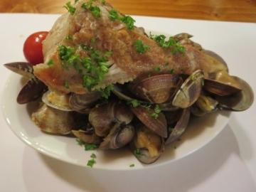 アクアパッツァ赤身魚