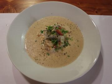 雲海キノコスープ
