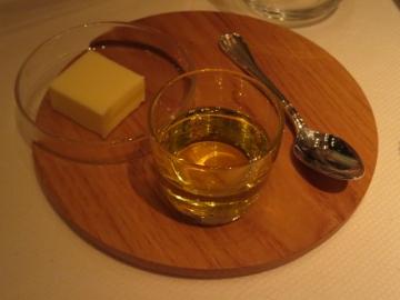 バターとオリーブオイル
