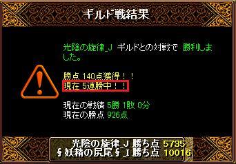 2015726妖精結果