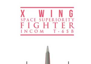 T-shirt X Wing Icon