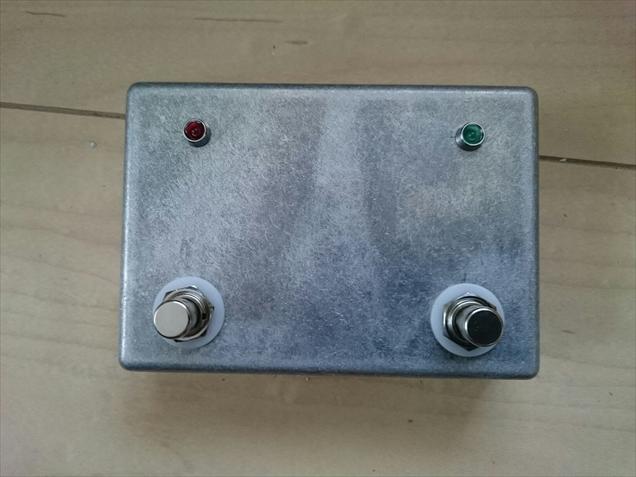 DEN AMP#2用フットスイッチ