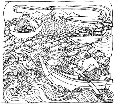 「舟」の場面
