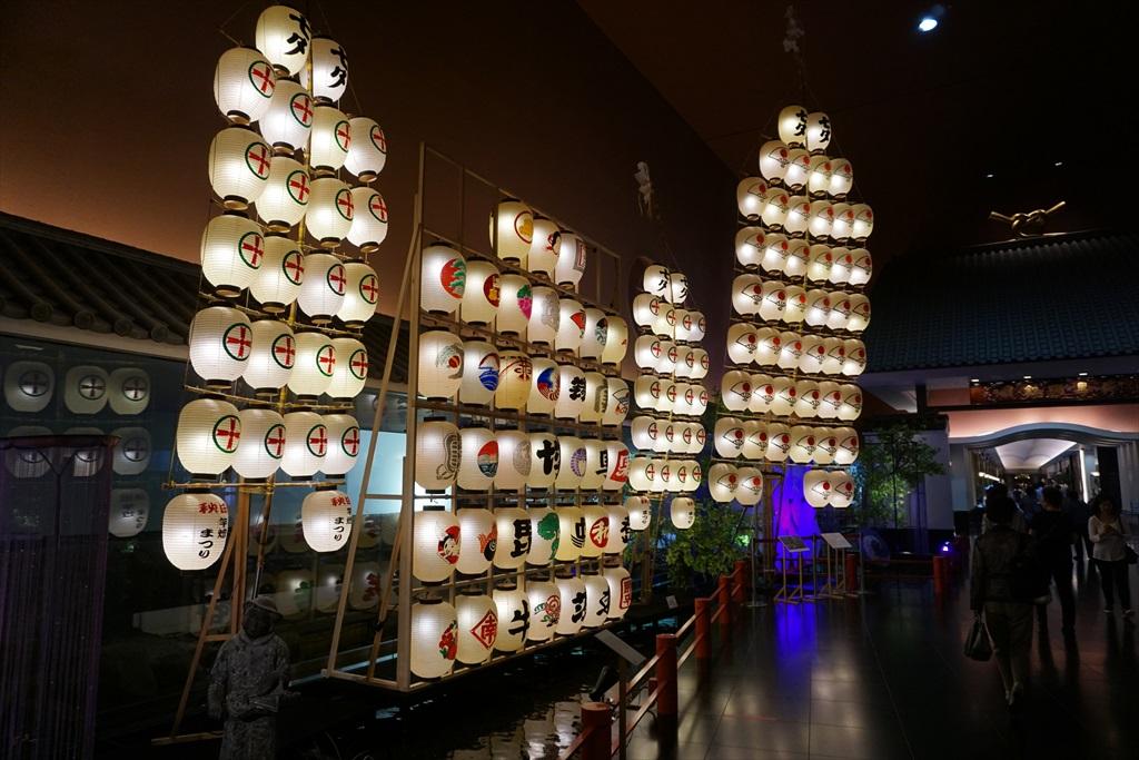 竿燈や七夕飾りも展示されていた_1