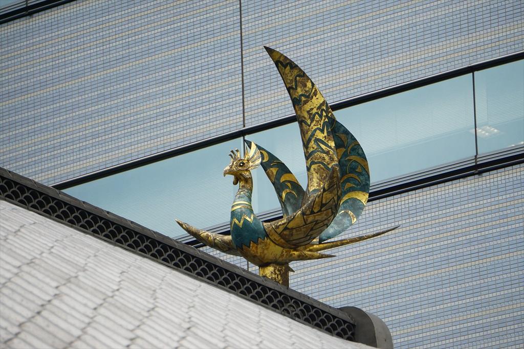 エントランスの屋根の上_1