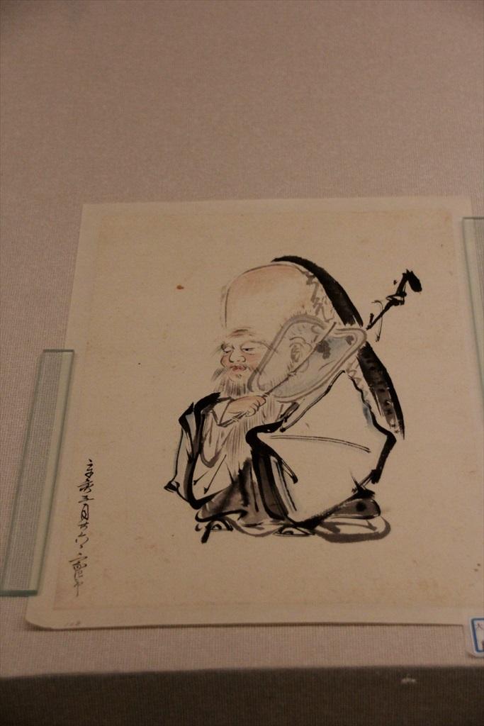 福禄寿図…大場景福筆