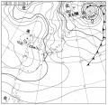 1月2日の天気図