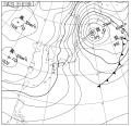 8日の天気図