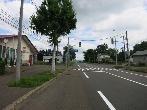 国道276号線 鈴川郵便局 道道695号線