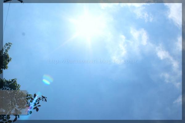 空 20150715 夏 太陽 日差し