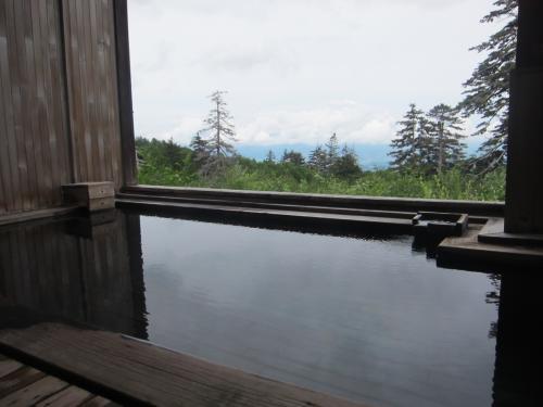 カミホロ荘露天1