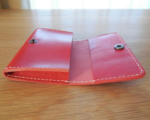 革 手縫い カードケース
