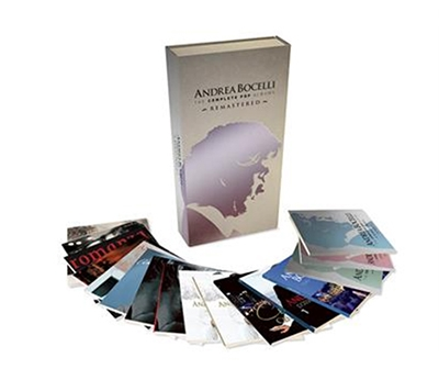 Andrea Bocelli - The Complete Pop Albums