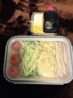 糖質0g麺でランチBOXその1