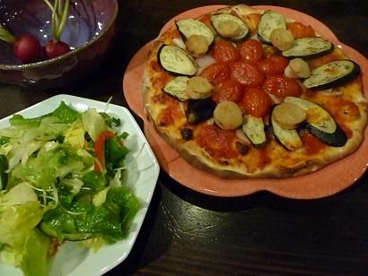 ピザパ なす