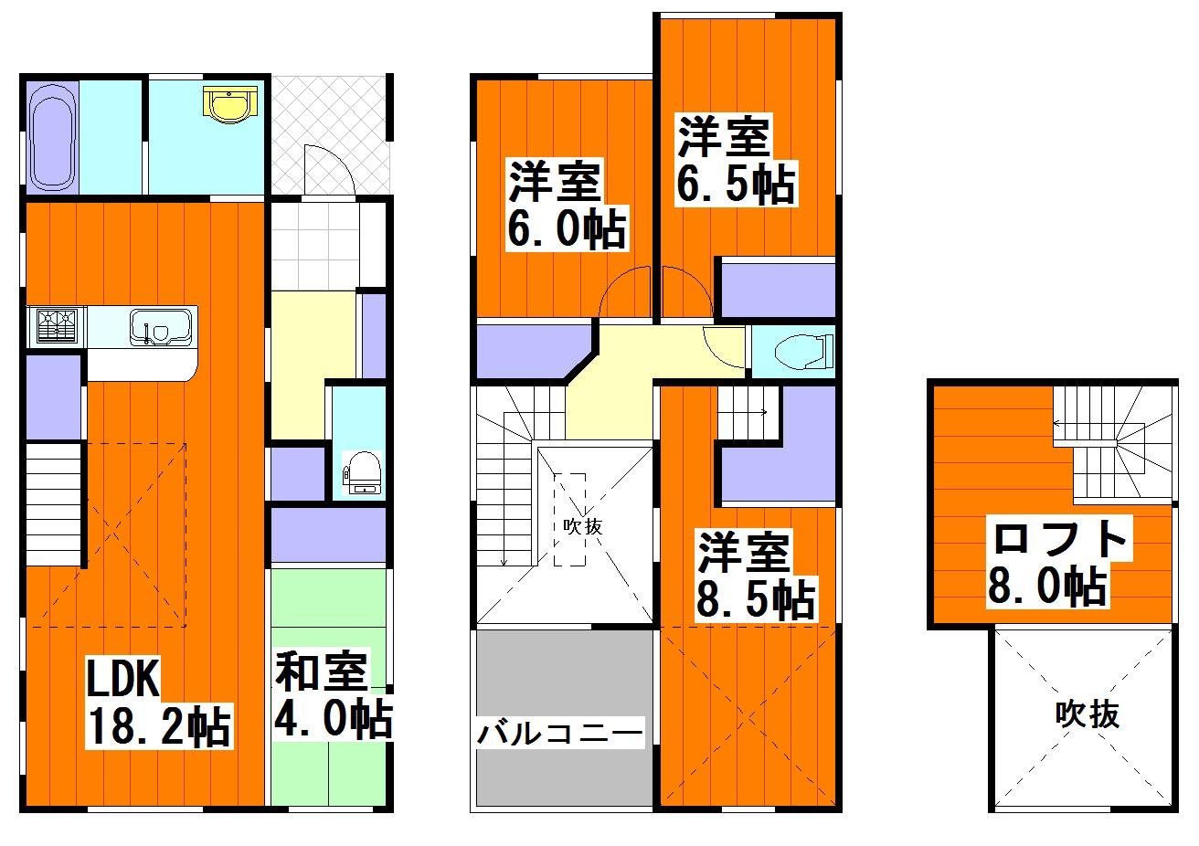 ルルーディア牛田新町1丁目のご紹介!