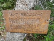 椹島~千枚小屋