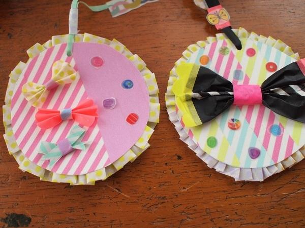 $blossom ビーズ刺繍/ハンドメイドヘアアクセ/コラージュ