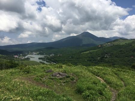 ビーナスから白樺湖&蓼科