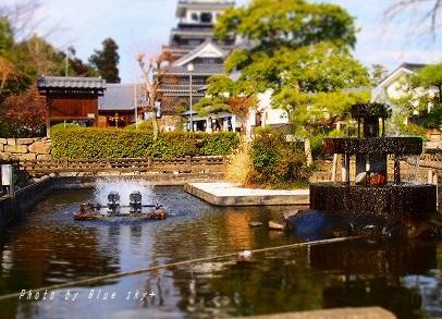 外中津城-三斎池