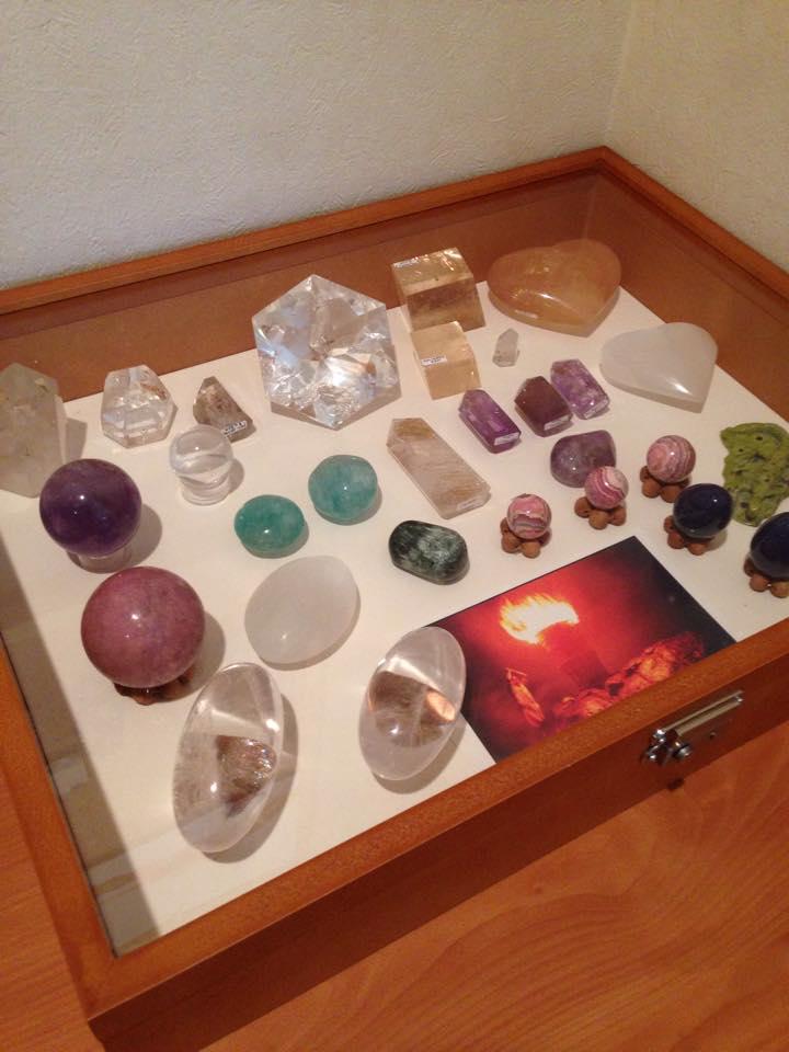天然石ポリッシュクリスタル