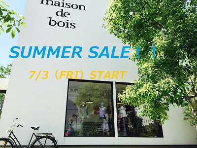 SUMMER SALE ブログ用