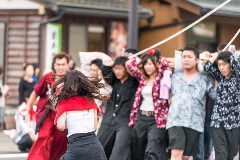 2015.07.04あばれ祭り 神輿を海へ火の中へ14
