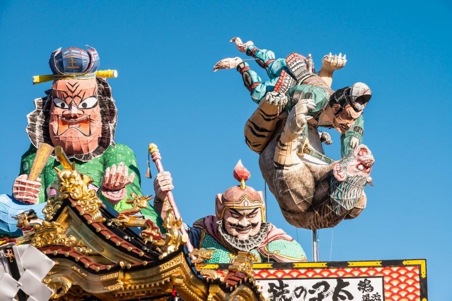 2015.07.20燈籠山祭りの山車巡行8