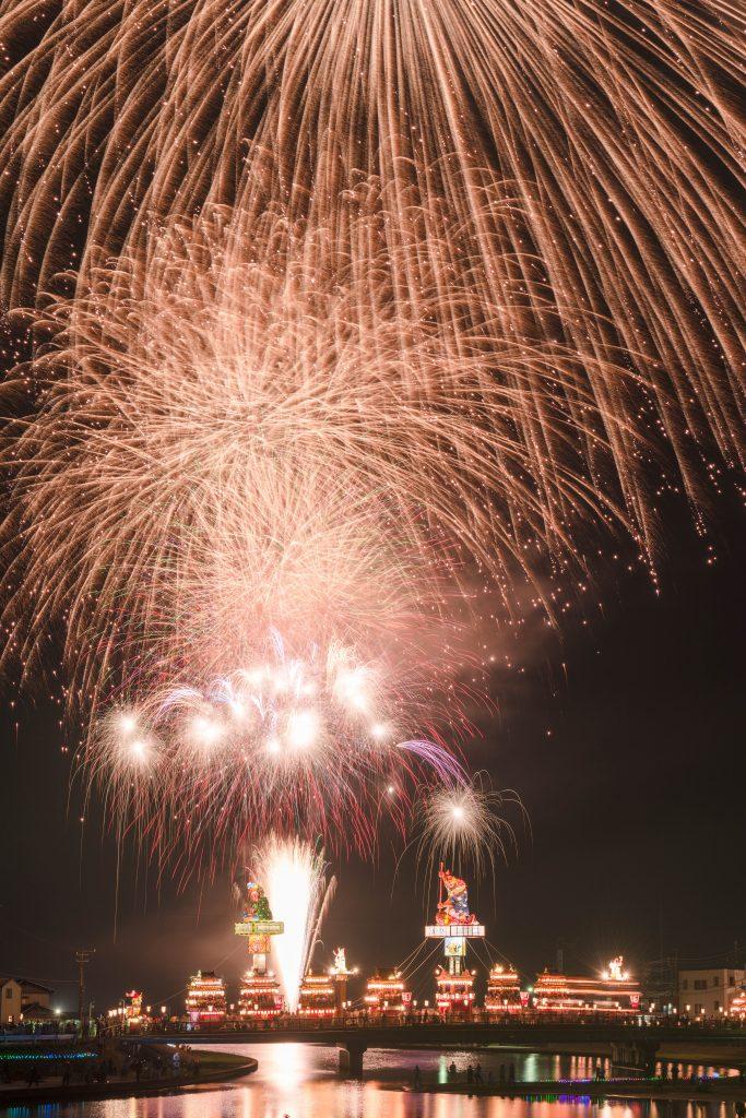 2015.07.20燈籠山祭りと花火10