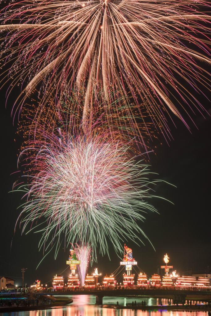 2015.07.20燈籠山祭りと花火9