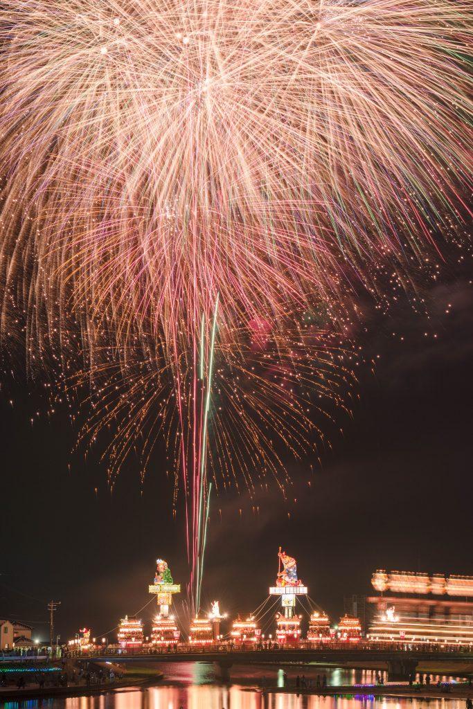 2015.07.20燈籠山祭りと花火8