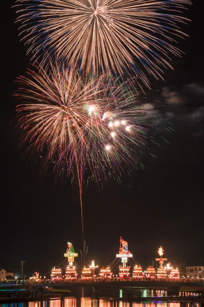2015.07.20燈籠山祭りと花火7
